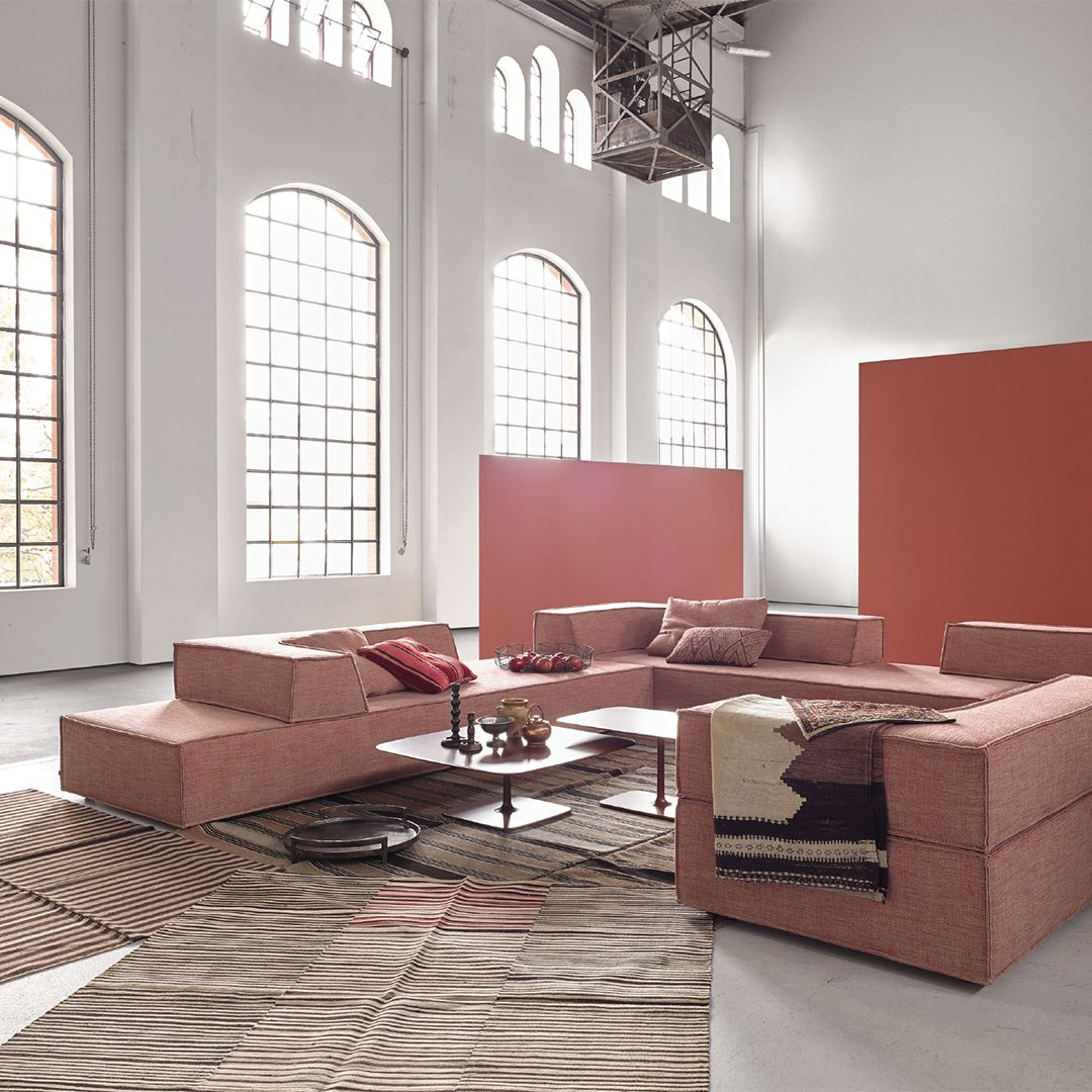 Hardly Any Other Cor Product Is As Versatile And Flexible As The Modular Sofa Trio You Can Playfully Create Your Own Dream Ver In 2020 Sofa Design Mobeldesign Wohnung