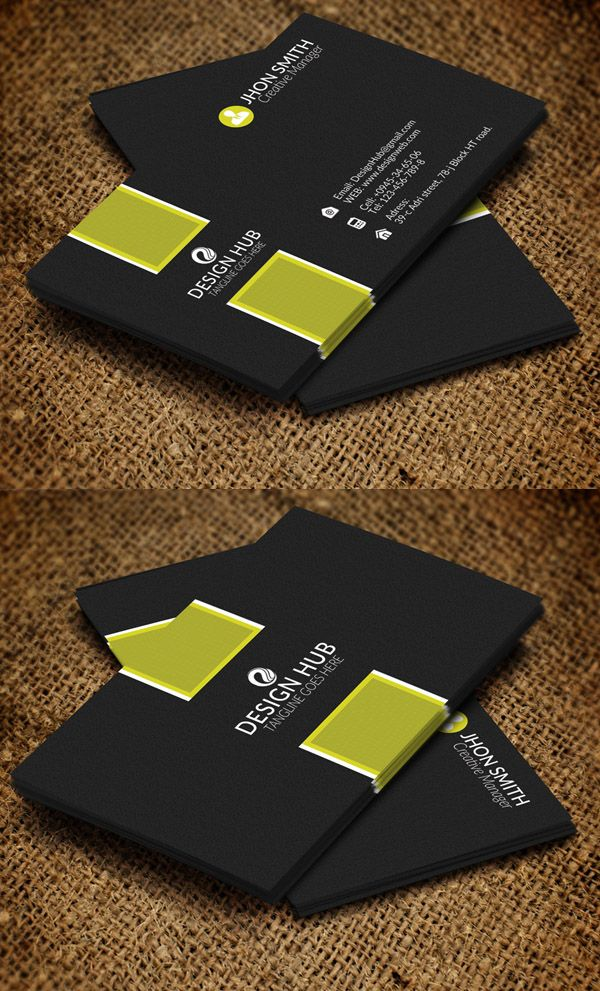 26 Modern Business Cards Psd Templates Print Ready Design Graphic Design Junction Business Card Template Design Business Cards Creative Templates Modern Business Cards