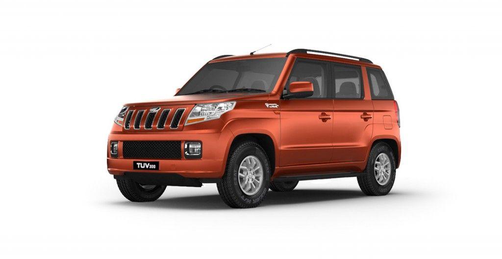 Mahindra Tuv300 Colors Red Blue White Silver Orange Black