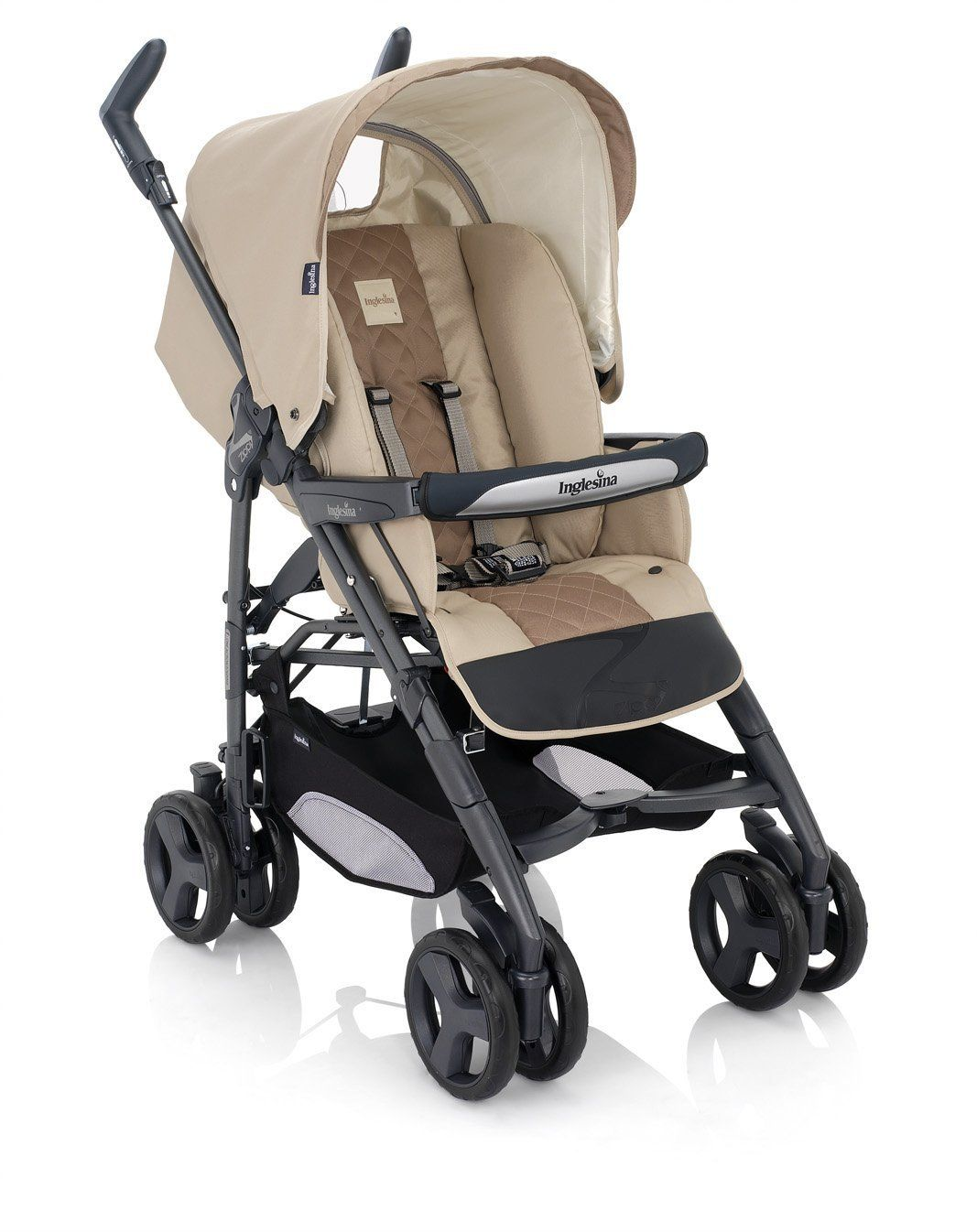 Inglesina Zippy Stroller With Rain Cover (2010) Ecru