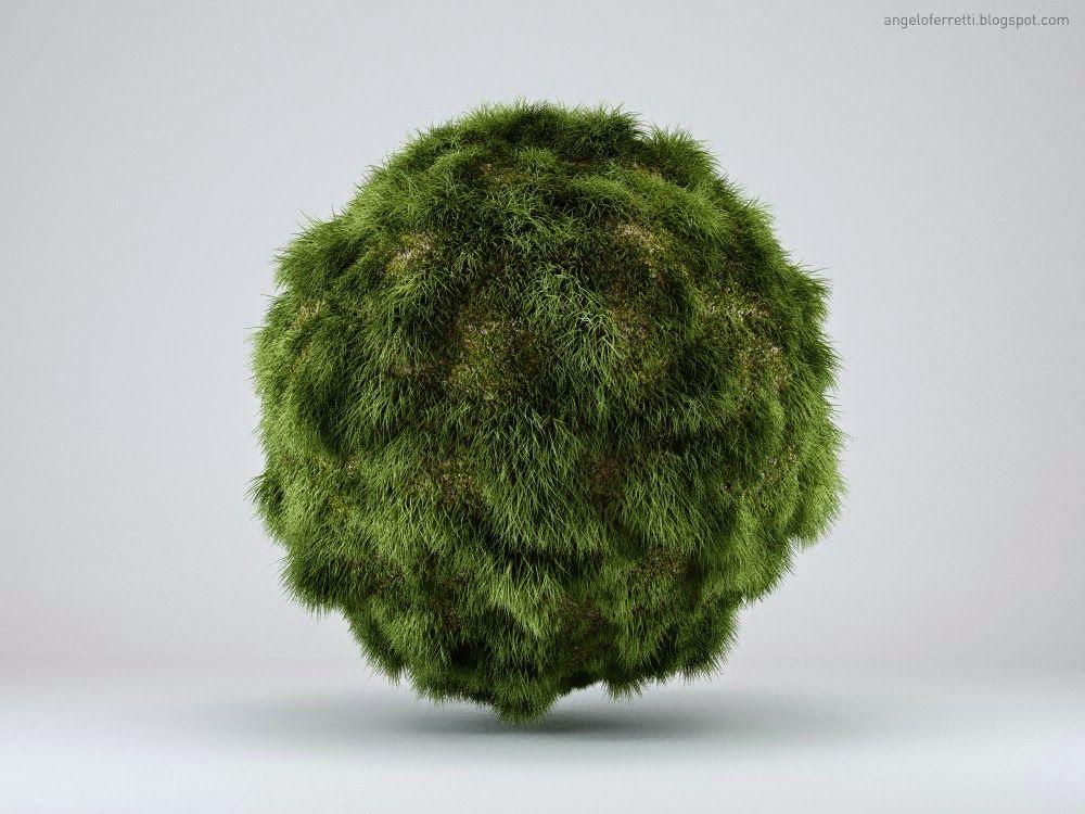 Creare un'erba realistica con VRAYFUR   Angelo Ferretti