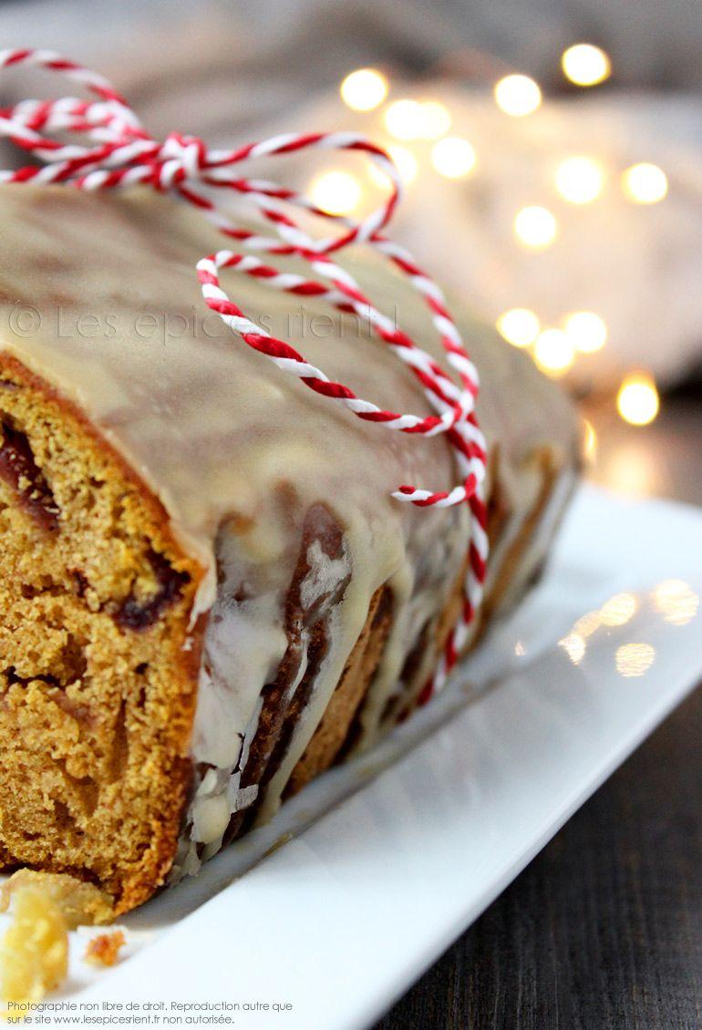 Mon Cake De Noel Aux Epices Fruits Secs Et Rhum Glace Au Sirop D Erable Les Epices Rient Gateaux Et Desserts Alimentation Et Fruits Secs