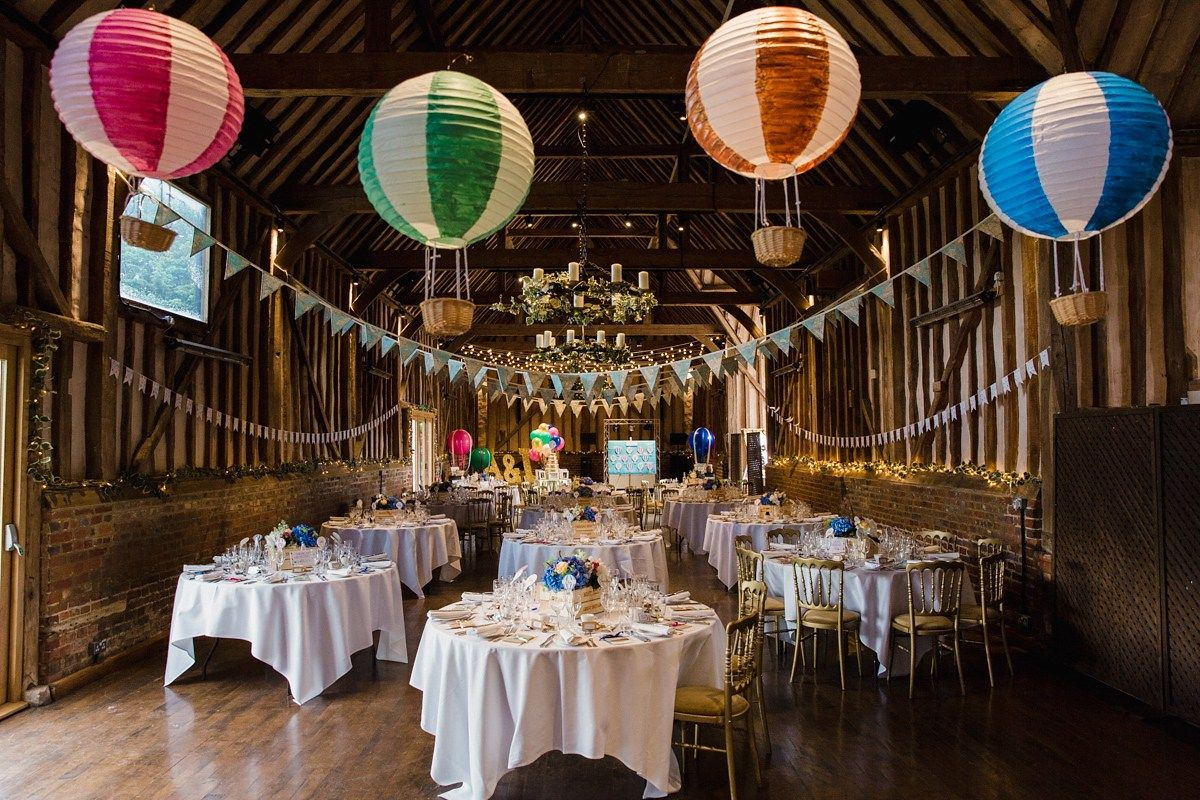 Liz wore a Vivienne Westwood dress for her hot air balloon and travel inspired…
