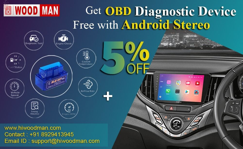 Get 5 off on OBD Diagnostic Device Free with Android