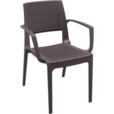 Siesta Exclusive Capri Stacking Chair Finish: