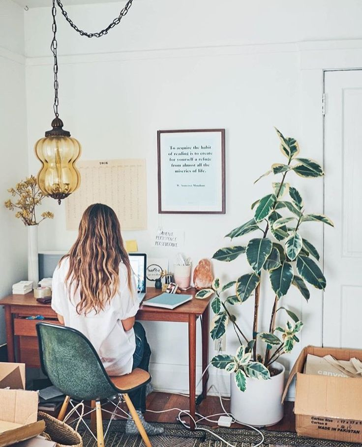 House plants homeoffice small apartament in pinterest home office decor and also rh