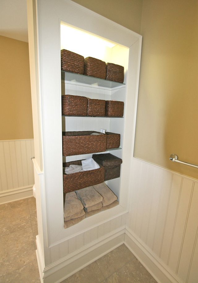 Pin By Lea Rowe On Home Ideas Bathroom Built Ins Bathroom Renovations Shelves