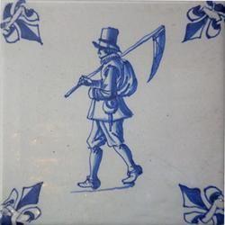Deft Blue Tile (Netherlands)