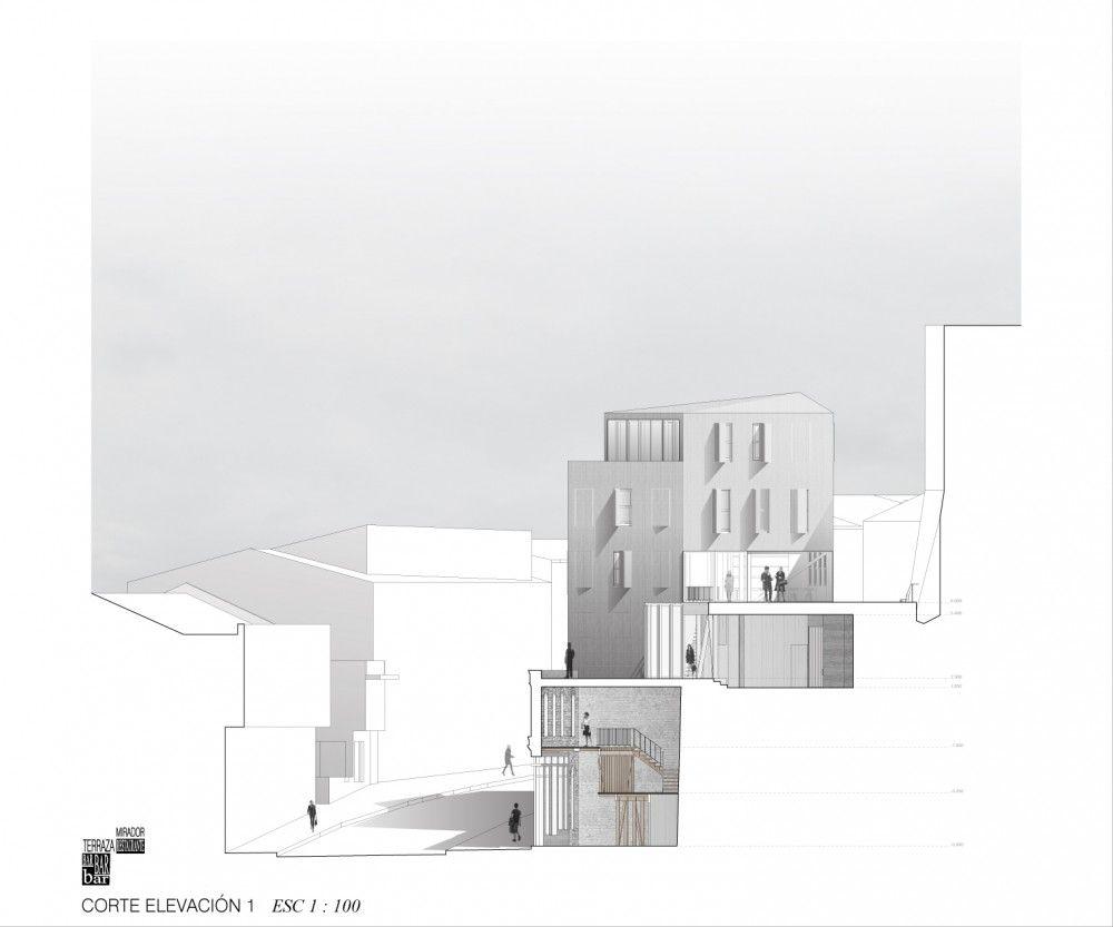 Un Edificio Híbrido para Valparaíso