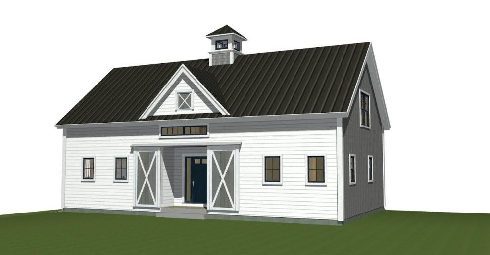 Small Barn Home Orchard View Small Barn Home Barn House Plans Barn Homes Floor Plans