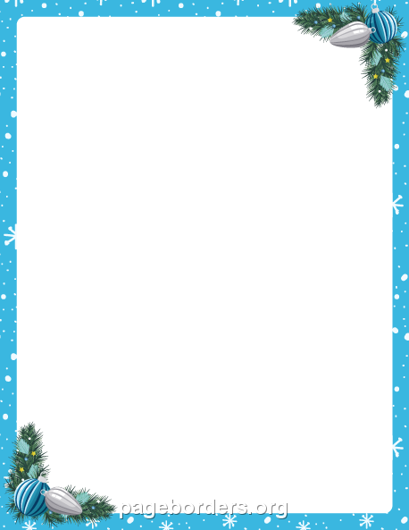 Pin By Nora On Poster Christmas Border Free Christmas Borders