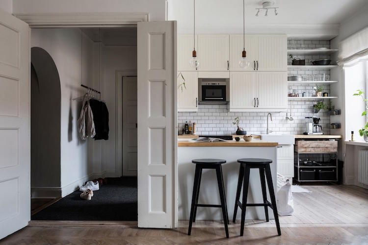 my scandinavian home Classic meets contemporary in a Stockholm home