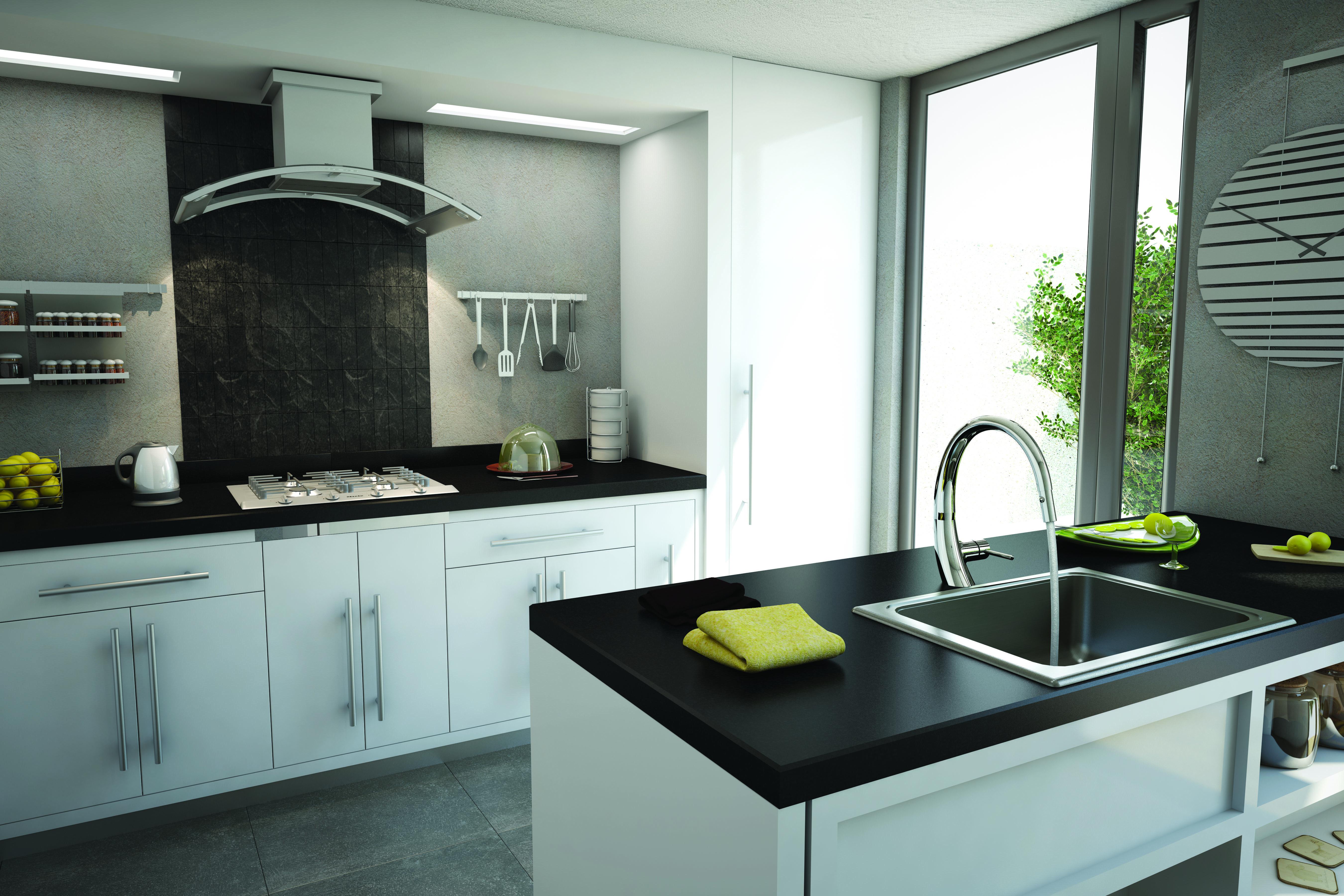 Bonito Grandes Diseños De La Cocina Modelo - Ideas de Decoración de ...