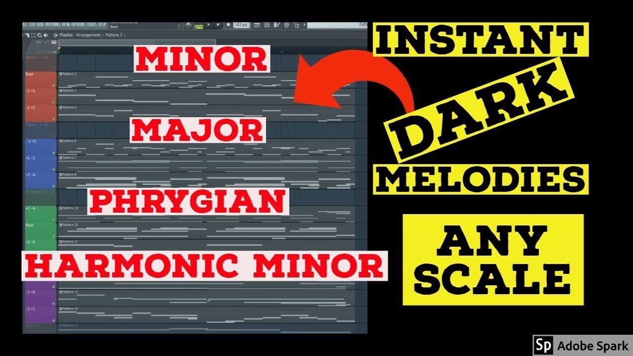 How To Make Dark Melodies   FL Studio Tutorials #flstudio