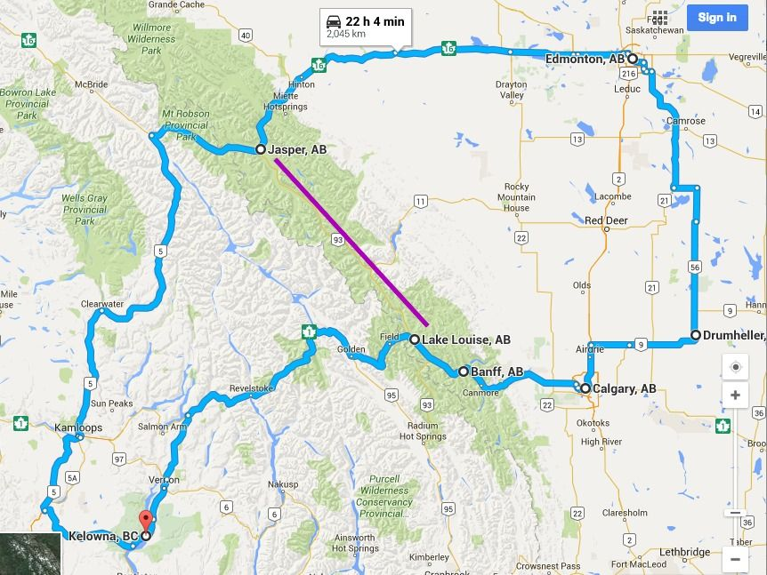 The Ultimate Alberta Road Trip Guide: How To See Alberta In ...