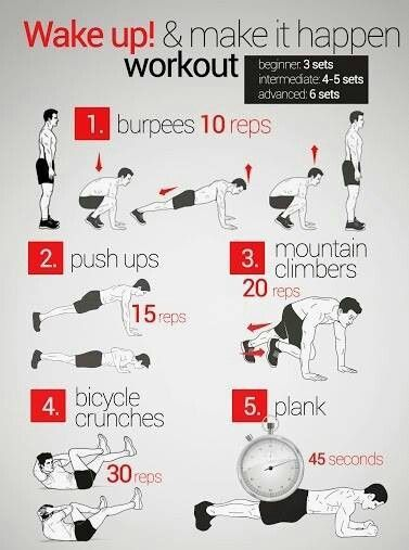 GirlsGuideTo | Workout Wednesday: 5 Quick Morning Workouts to Switch Things Up | GirlsGuideTo