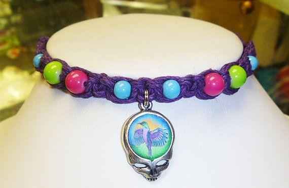 Steal Your Hummingbird Grateful Dead Stealie by sherrishempdesigns, $9.99