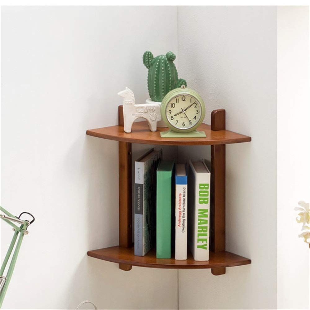 Mounted Floating Shelves Storage Wooden In 2020 Wooden Corner Shelf Shelves Floating Shelves Diy