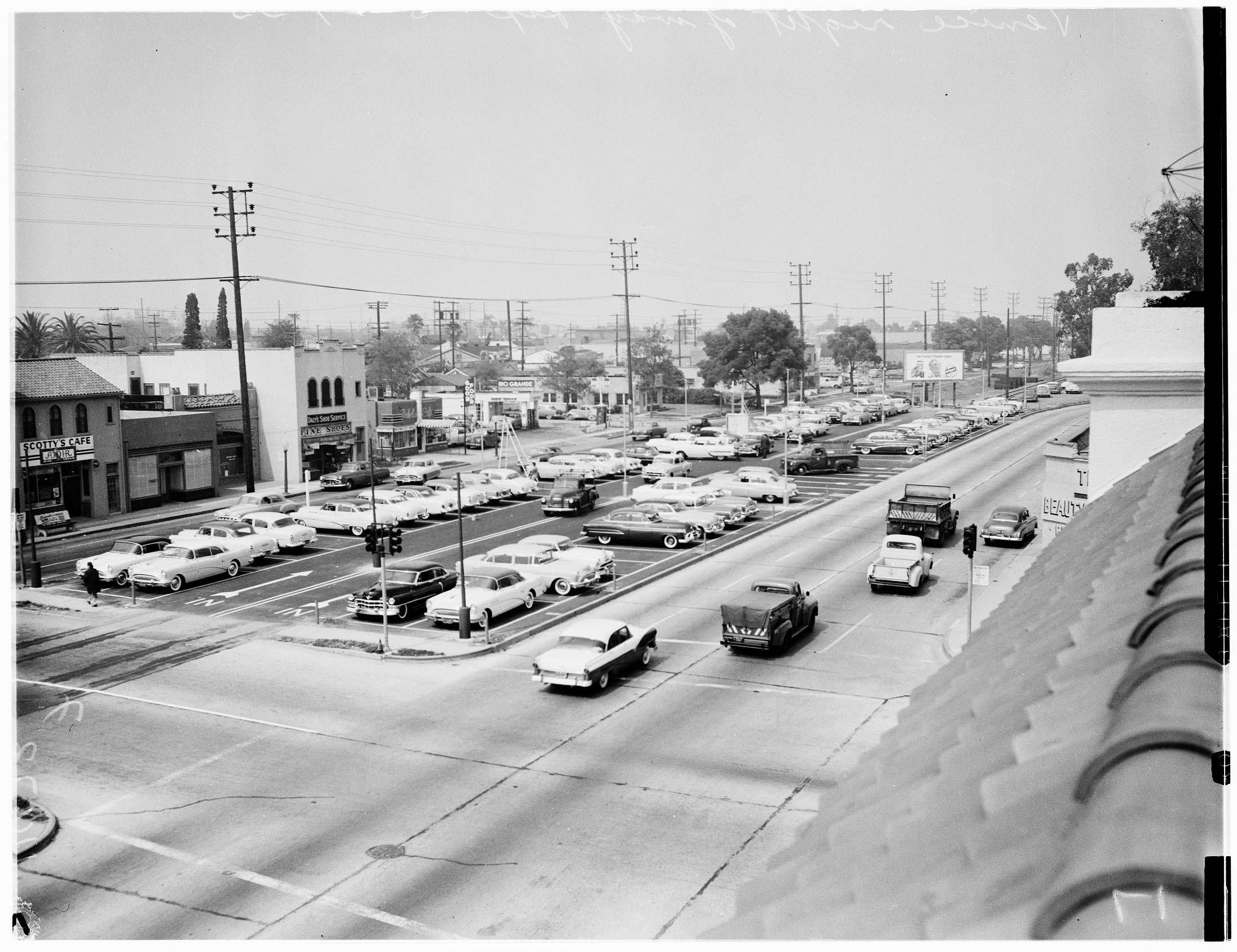 Photos Many L A Boulevards Began As Trolley Lines Culver City Car Dealership Los Angeles Area