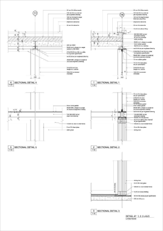 khadakvasla house spasm design architects detail of glass box