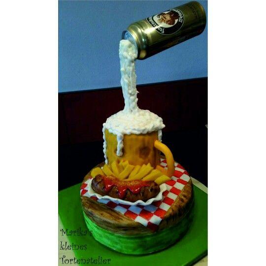 Bier Torte Beer Cake Kuchen Torten