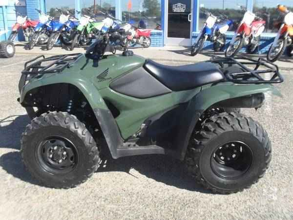 Great Used 2012 Honda FOURTRAX RANCHER 2X4 ES ATVs For Sale In Texas. 2012 Honda  Rancher 420 Electric Shift 2X4 ATV, 4 Stroke Quad 4 Wheeler, Electric  Start, ...