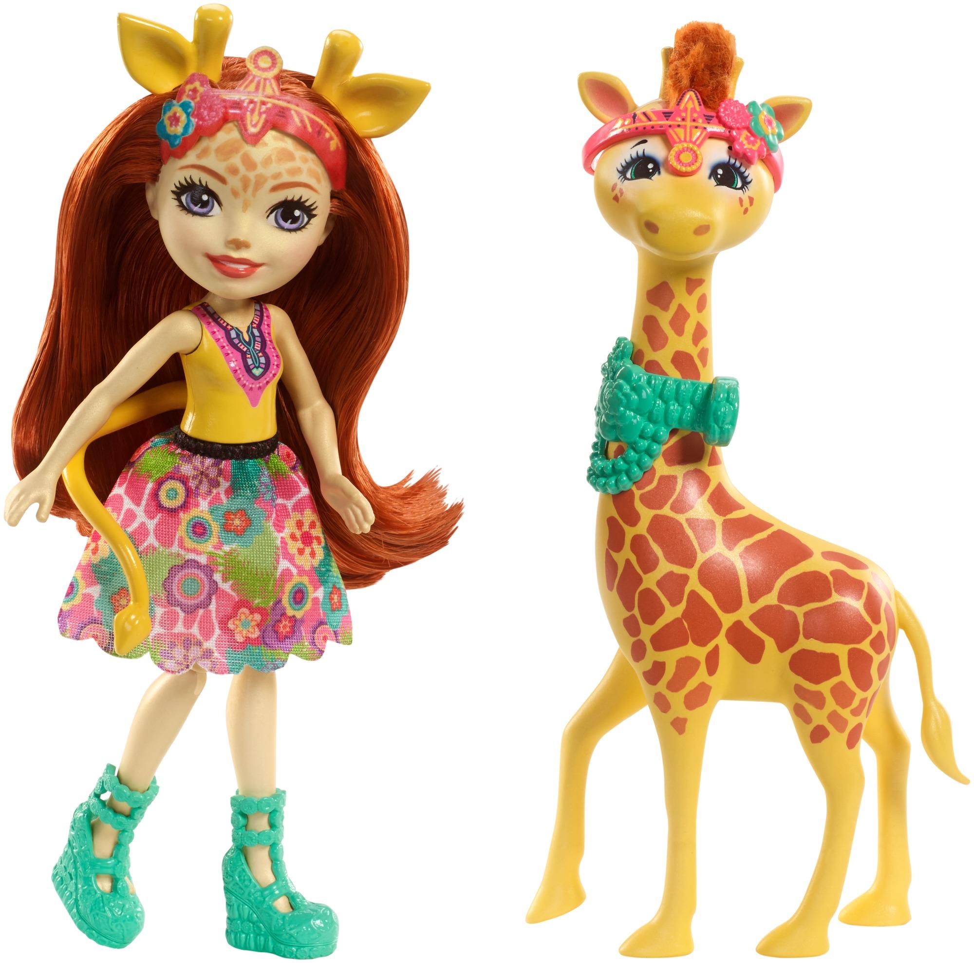 Mattel Enchantimals Gillian Giraffe Dolls Juguetes Para Ninas