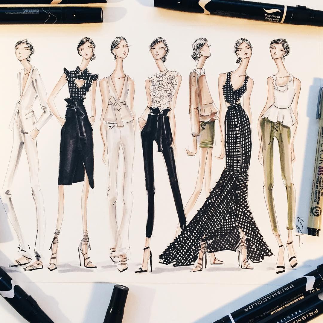 Rachel Zoe Genius Décor Ideas From Instagram: Fashion Sketches, Fashion Design