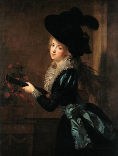 Lutnistka. Johann Friedrich August Tishbein.