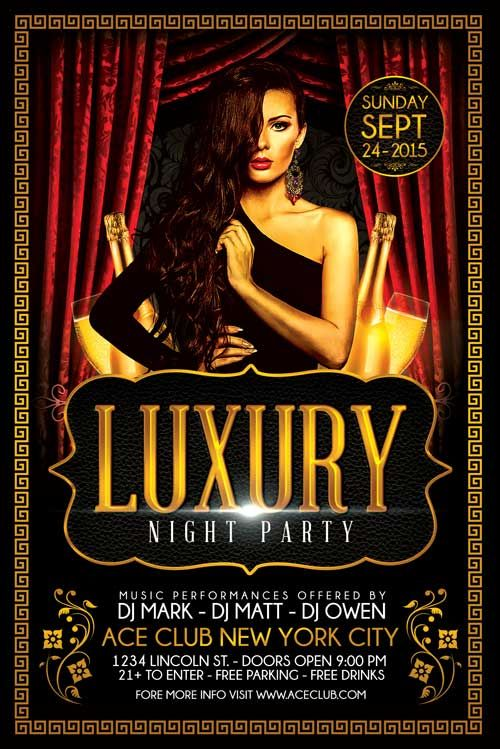 pin by shun xie on casino flyer template templates party flyer