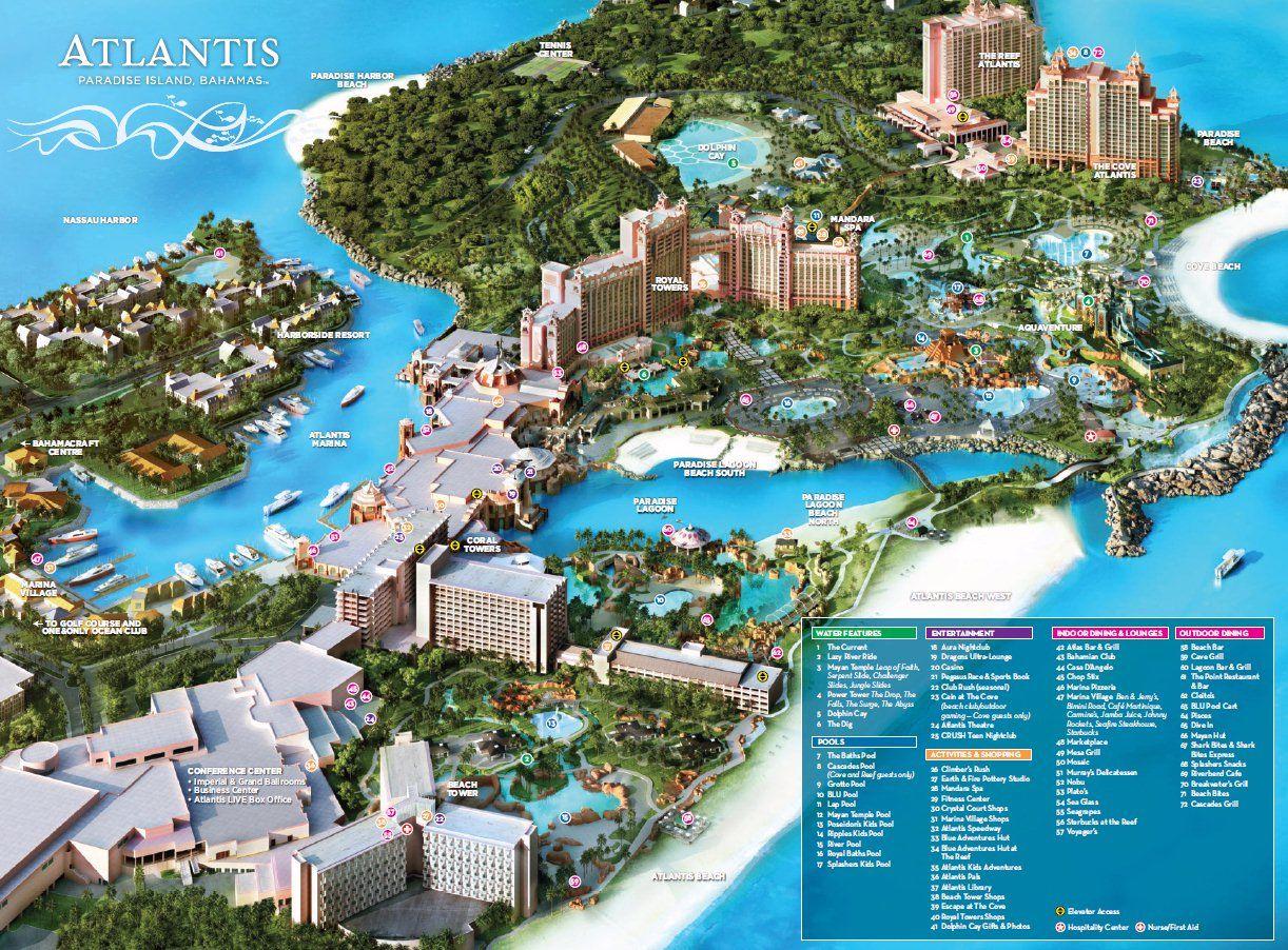 Resorts on Paradise Island Bahamas  The Royal at Atlantis