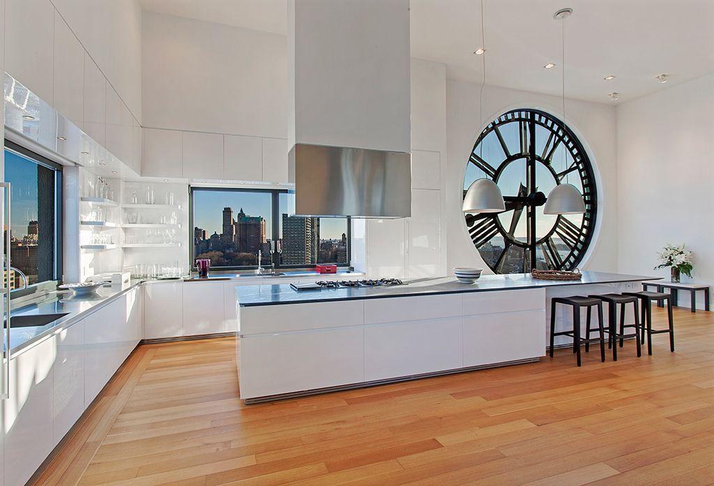penthouse kitchen - brooklyn