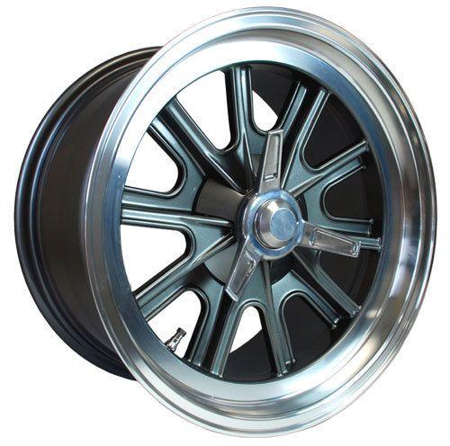 "17"" X 9"" And 17"" X 10.5"" Vintage Halibrand Replica Wheels"