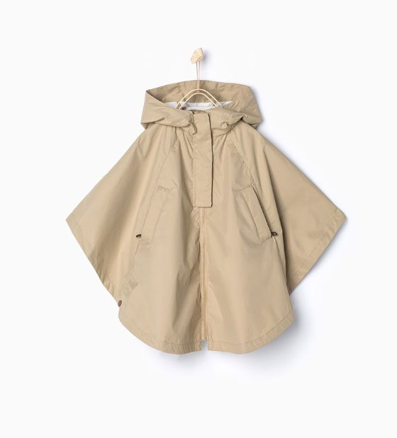 Image 2 Of Cape Raincoat With Hood From Zara V 234 Tements