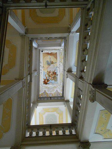 Tiepolo e scala palazzo Patriarcale o Arcivescovile di Udine #TuscanyAgriturismoGiratola