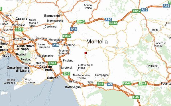 Calitri Italy Map.Montella Italy Interesting Italy Italy Travel Sicily