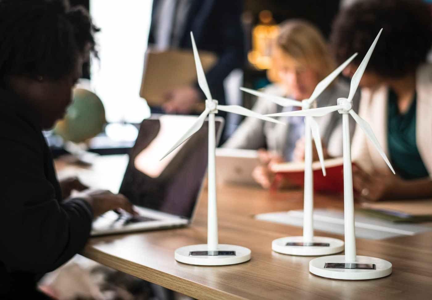 Child climate activist renewable solar renewable energy