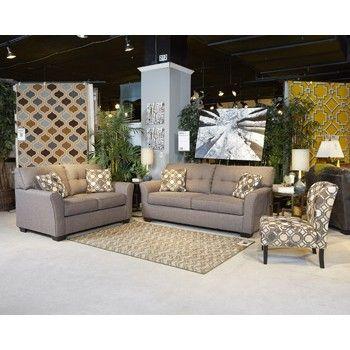 Superb Tibbee Slate Sofa Loveseat In 2019 Furniture Bralicious Painted Fabric Chair Ideas Braliciousco