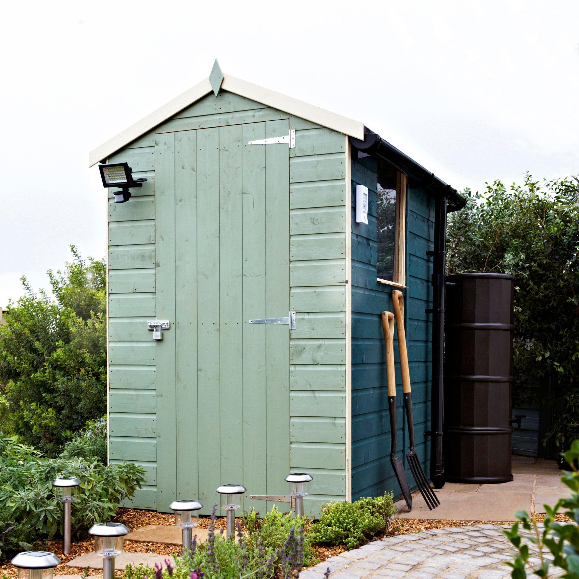6x4 apex shiplap shed - Garden Sheds B Q