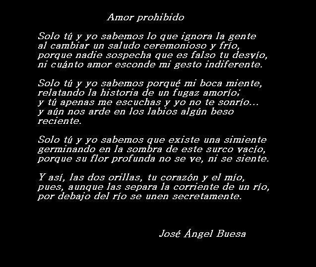 Amor Prohibido Jpg 637 539 Amor Prohibido Jose Angel Buesa Amor