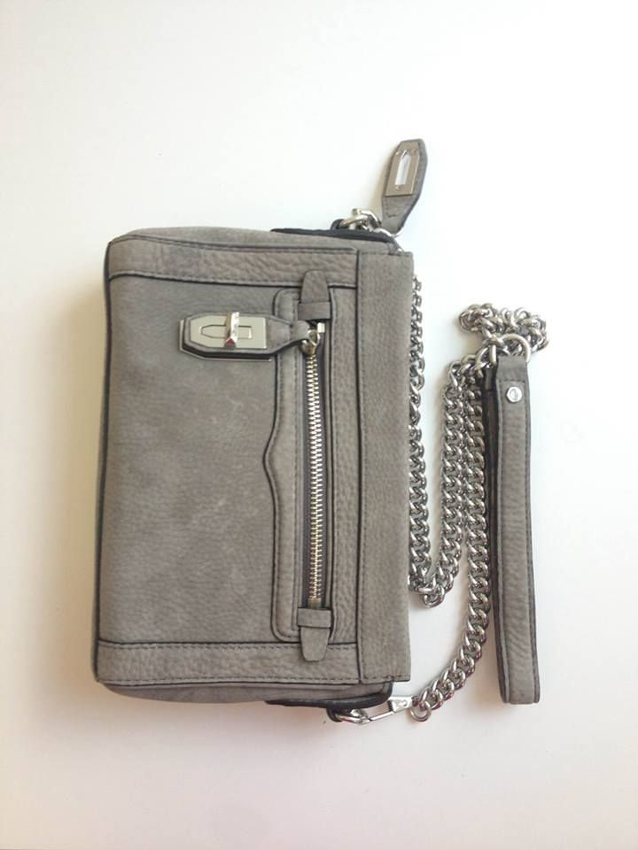 Grey Matters: The Mini Crosby Crossbody in cool charcoal a must-have for fall.  Get it Now: http://rstyle.me/~2mQ3u