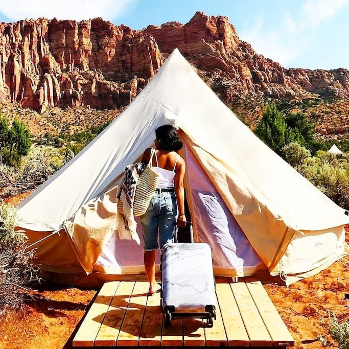 Zion Luxury Camping - Campsites for Rent in Hurricane ...