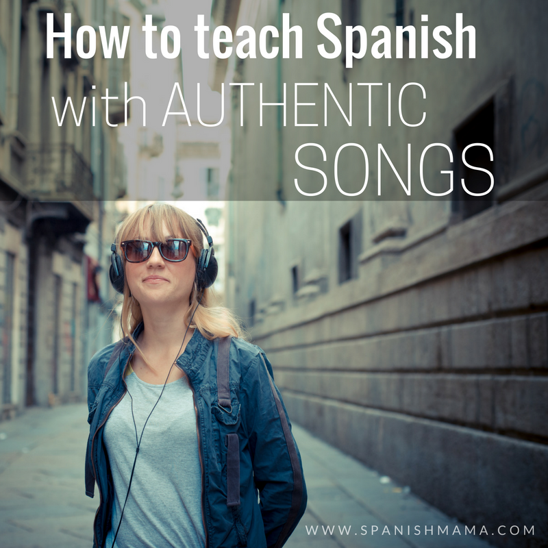 0f3ad8b365 Advice for using authentic music in the Spanish classroom. How to choose  Spanish songs, when and why to use them, and ideas for activities.