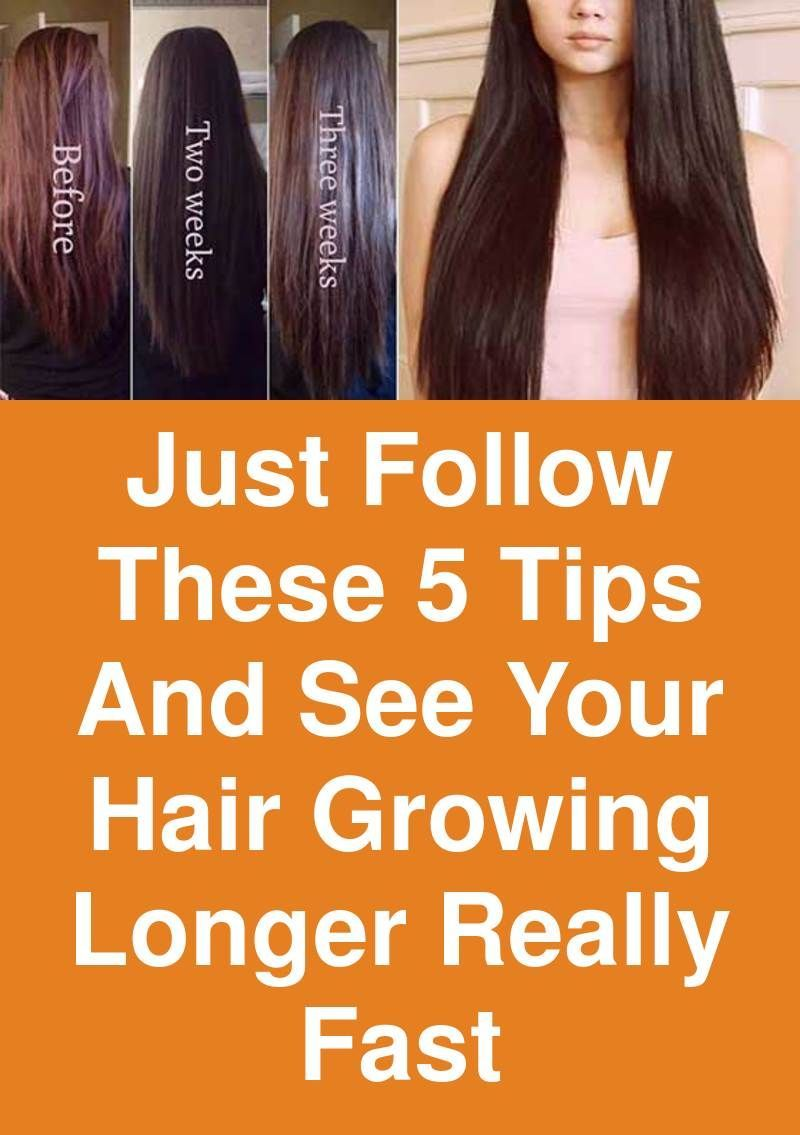 Just follow these 5 tips and see your hair growing longer