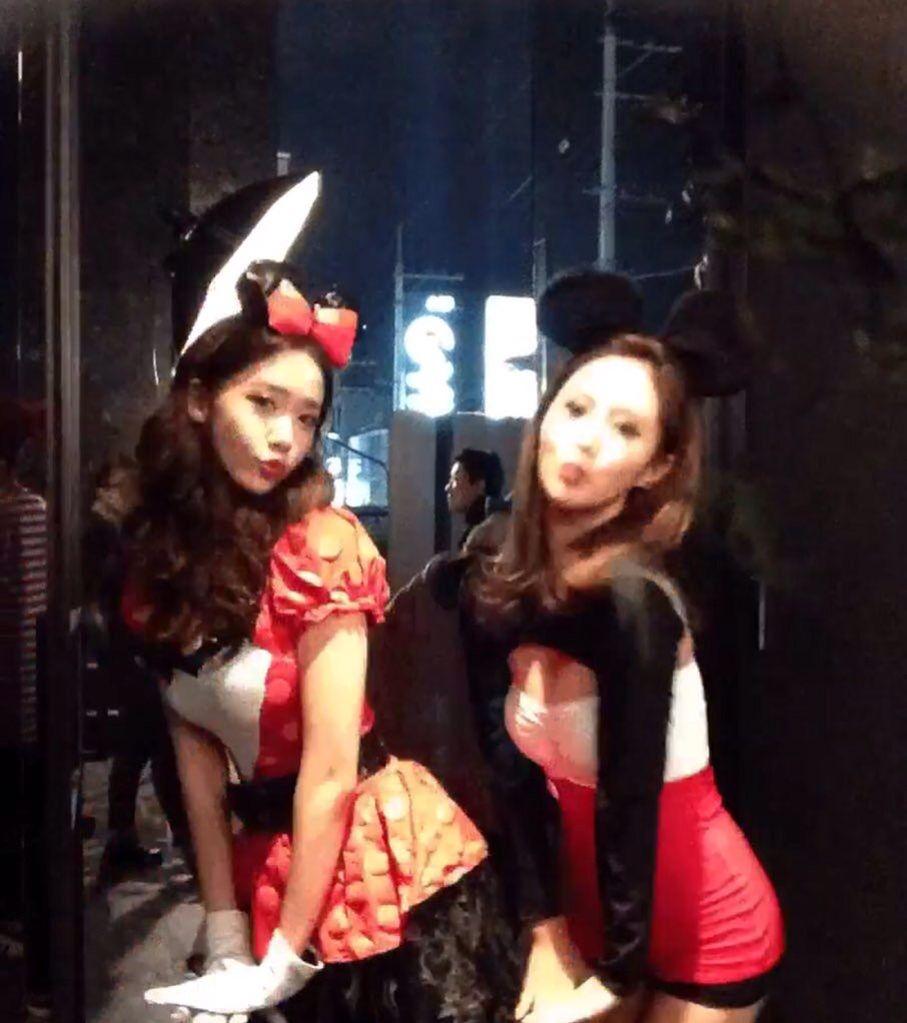 151029 SMTOWN 'WorldLand' HALLOWEEN Party SNSD Yoona & Yuri | SNSD ...