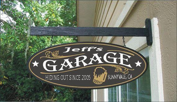 Beer Mug Garage Speed Shop Tavern Bar Man Cave by sealevelsigns, $54.99