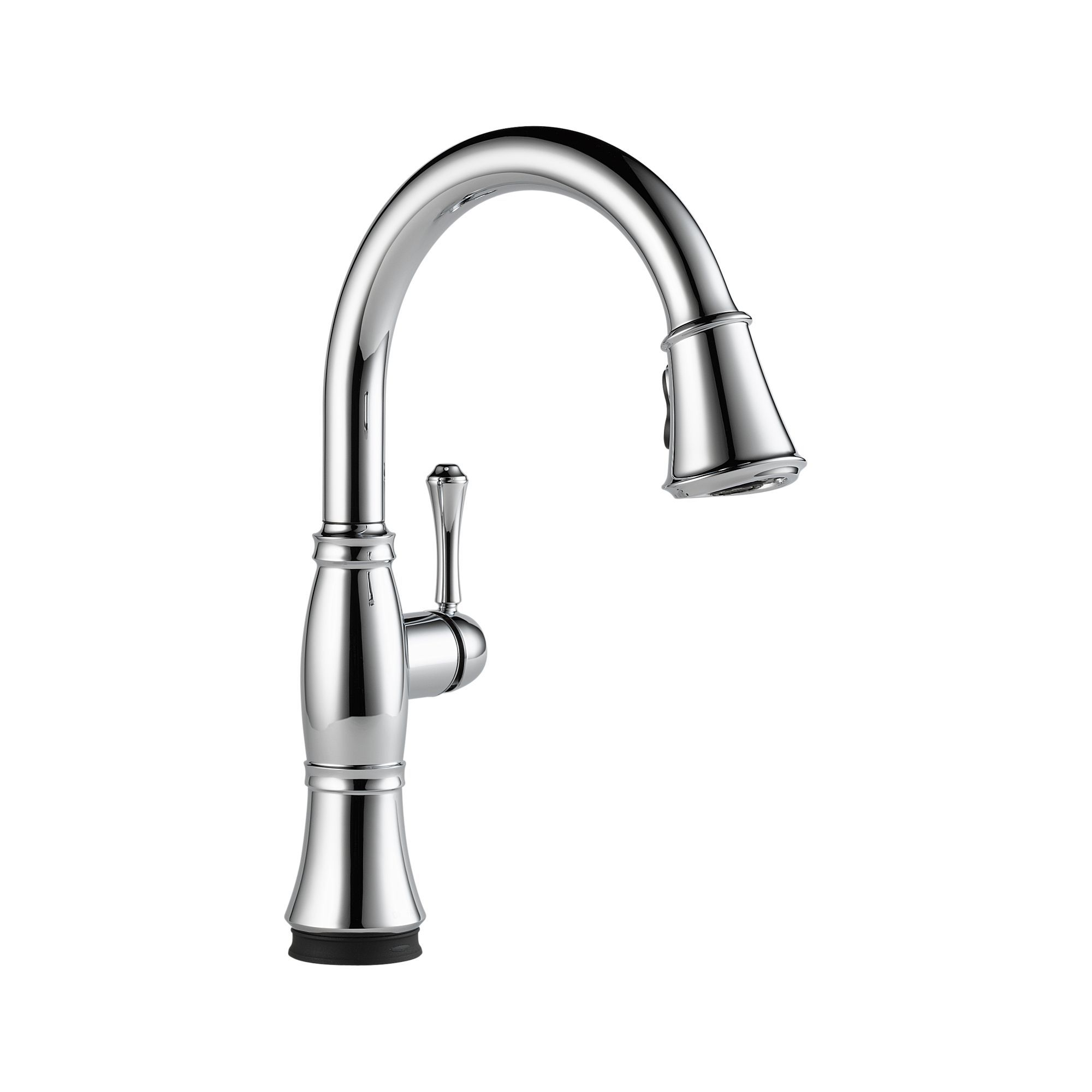 Delta 9197T-DST Cassidy Single Handle Pull Down Kitchen Faucet with ...