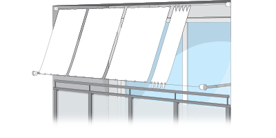 seilspannsonnensegel nach ma terrazas balkon. Black Bedroom Furniture Sets. Home Design Ideas