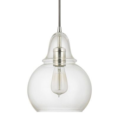 Hazelwood Home Claudia 1 Light Mini Pendant & Reviews | Wayfair