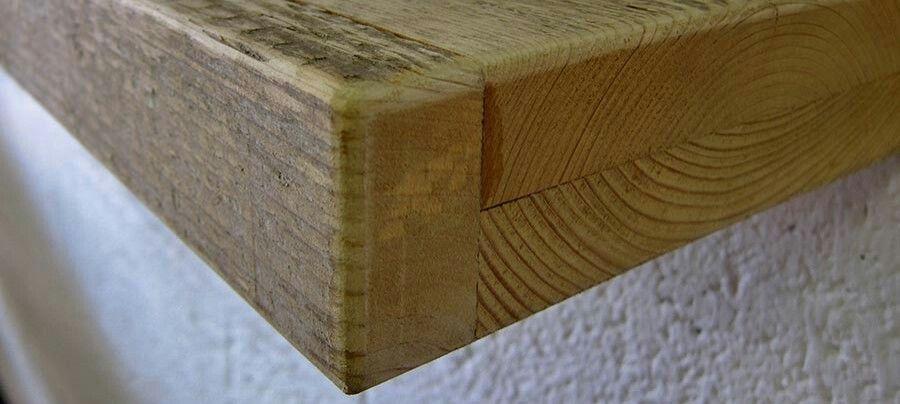 Wandplank Met Verborgen Ophangsysteem.Wandplank Steigerhout Blind Ophangsysteem 199 Euro Twee Delen Op